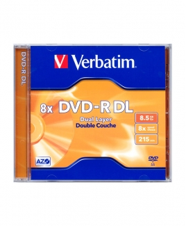 Verbatim DVD-R Dual Layer(DL) 8.5GB 8x [Jewel]